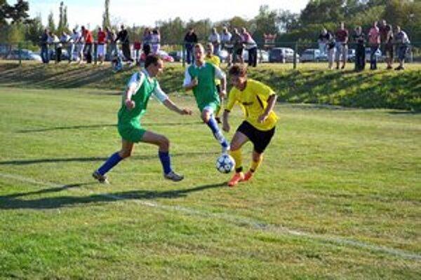 Päťgólový strelec. Tribula z Veľkej Lomnice strelil päť gólov.