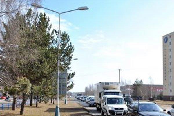 Dopravná situácia v Poprade je často komplikovaná.