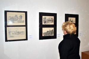 Novoobjavené kresby. Tatranská galéria predĺžila výstavu vo vile Flóra do konca mája.