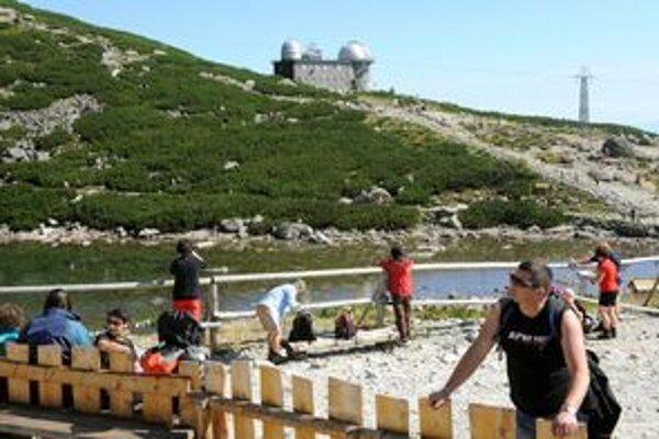 Turistov pribudlo. Vo Vysokých Tatrách dúfajú, že záujem o veľhory sa stáva dlhodobým trendom.