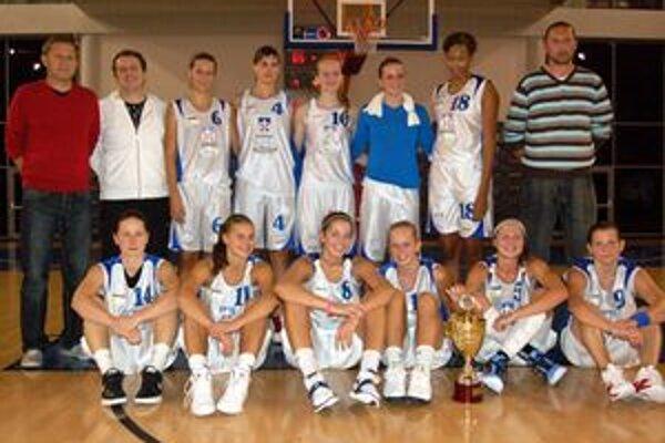 ŽBK Whirlpool Poprad. Domáce družstvo získalo bronz.