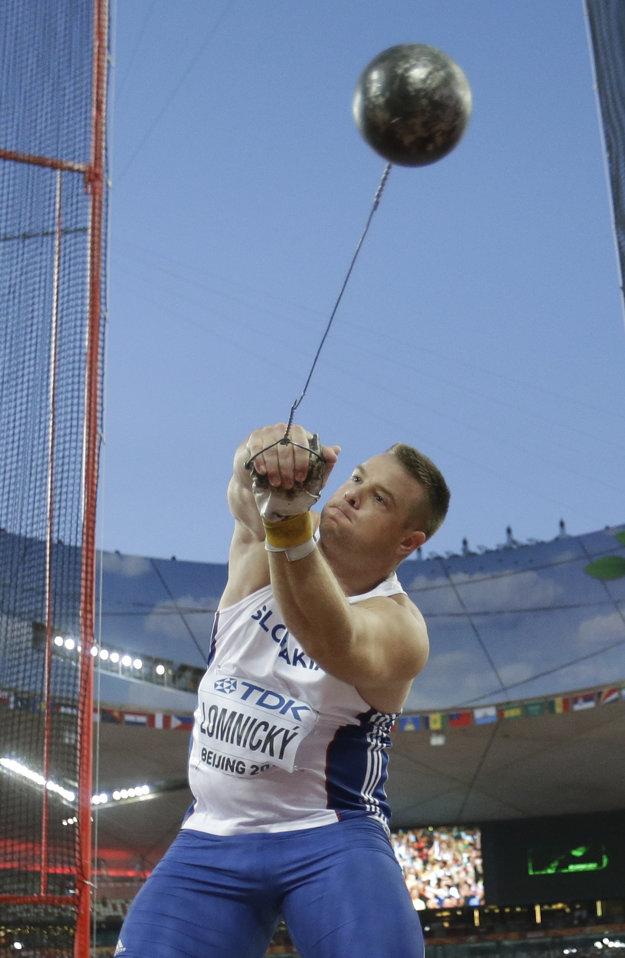 Marcel Lomnický chce bojovať v Riu o medaily.