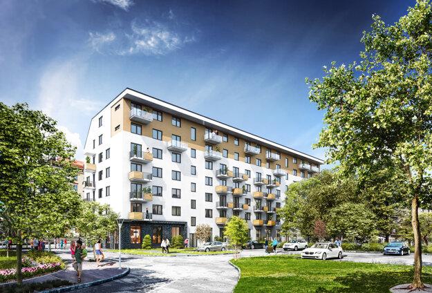 Nová bytovka bude stáť v areáli Cvernovky.