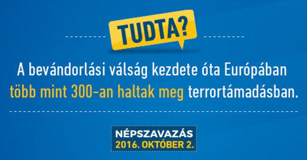 Vedeli ste, že od začiatku migračnej krízy zomrelo v Európe v dôsledku teroristických útokov viac ako 300 ľudí?