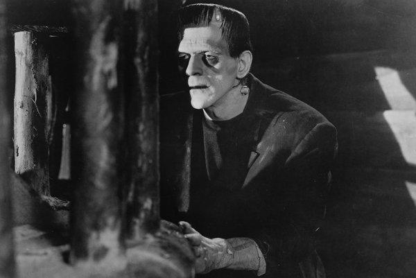 Boris Karloff vo filme Frankenstein v roku 1931