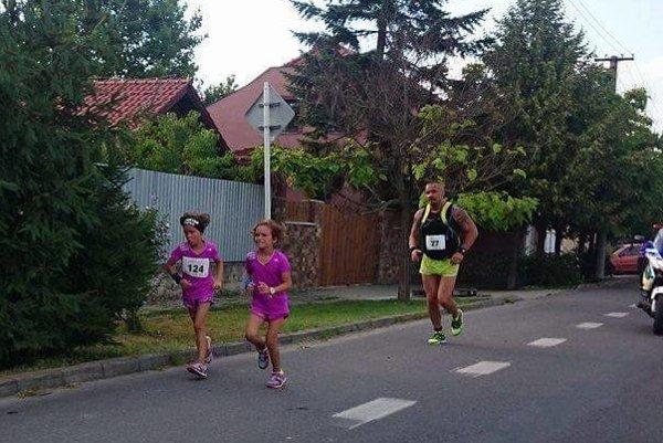 Miroslav Drugda so svojimi dcérami - úspešnými džudistkami.