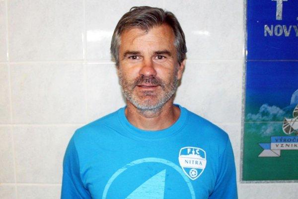 Tréner FC Nitra Róbert Barborík netají postupový cieľ.