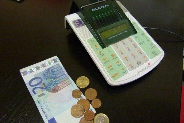 Príjem finančnej hotovosti musí byť zaevidovaný v registračnej pokladnici.