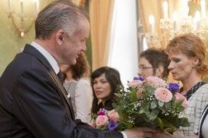 Angeliku Révész pozval prezident SR na slávnostný obed pri príležitosti MDŽ.