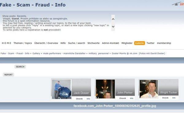 Podvodník vystupoval na internete pod rôznymi menami.