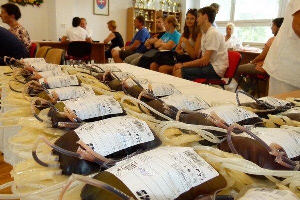Krv prišla darovať päťdesiatka ľudí.