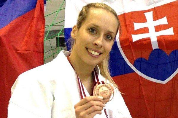 Karatistku Valentíkovú najviac teší titul majsterky sveta zroku 2013 WTKA vTaliansku.