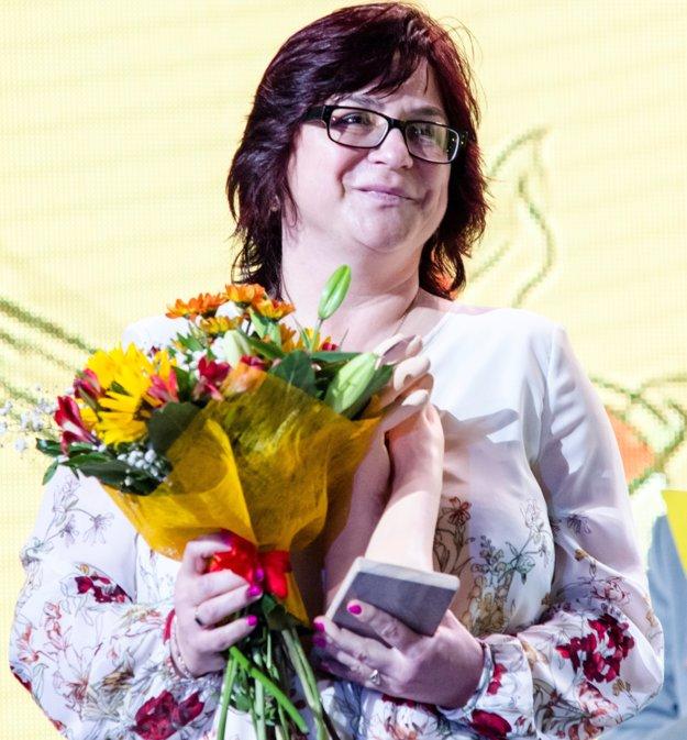 Monika Podolinská, riaditeľka základnej školy Muránska Dlhá lúka.