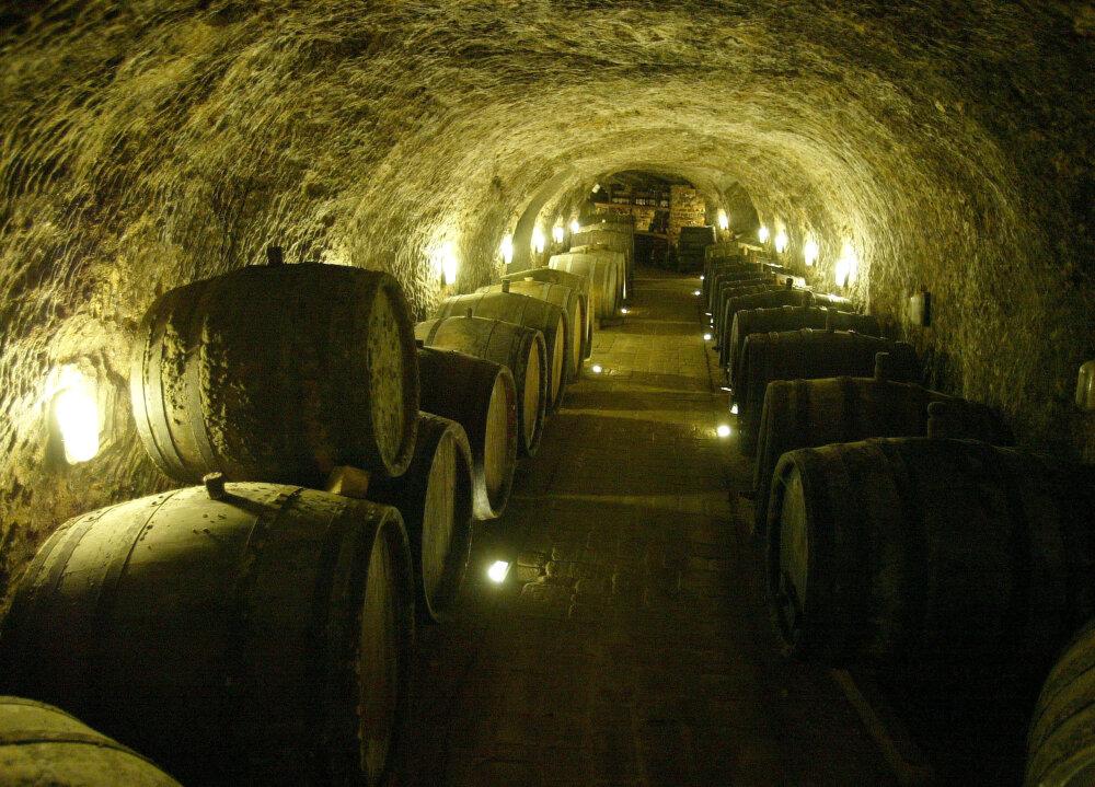 Tokajské vína zrejú v pivniciach z vulkanického tufu