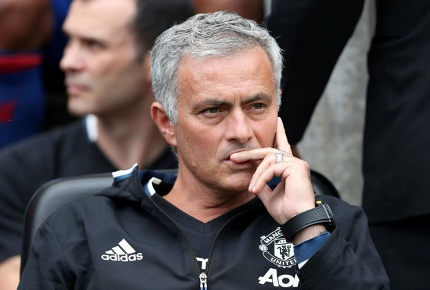 Tréner Manchestru United José Mourinho.