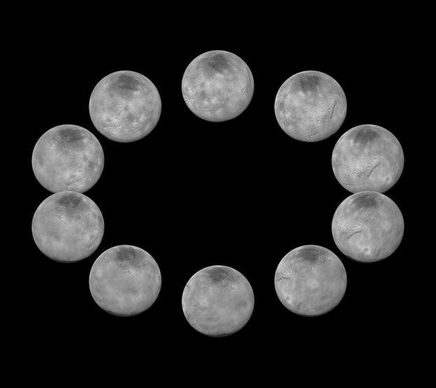 Deň na najväčšom mesiaci Pluta, Chárone.