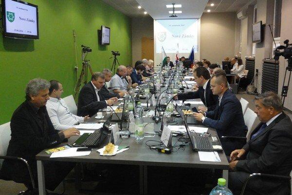 Zasadnutie mestského zastupiteľstva 15. júna.