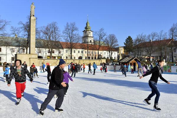 Klzisko bude v centre Prievidze prístupné od 13. decembra.