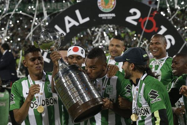 Futbalisti Atlética Nacional sa tešia zo zisku slávnej trofeje.