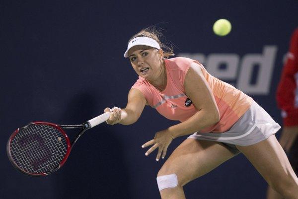 Kristína Kučová na US Open končí v 1. kole.