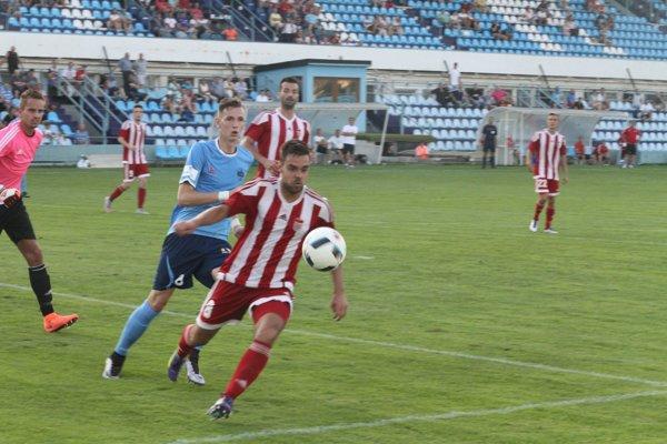 Jediný gól Dukly strelil Gabriel Snitka.