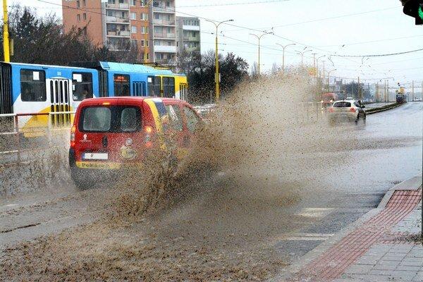 Víťazný Fiat Fiorino s vodičom z Vranova nad Topľou.
