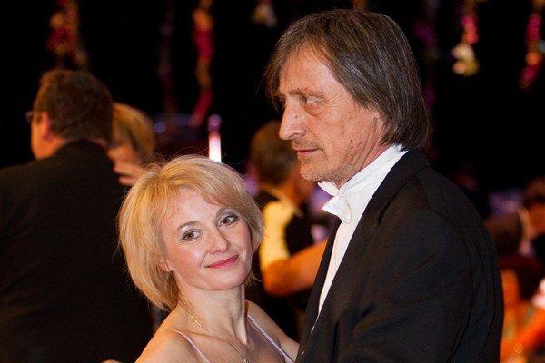 S manželom Martinom Stropnickým. Vraj je jej osudovou láskou.