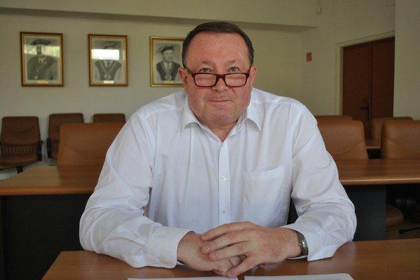 Stanislav Kmeť, rektor Technickej univerzity.