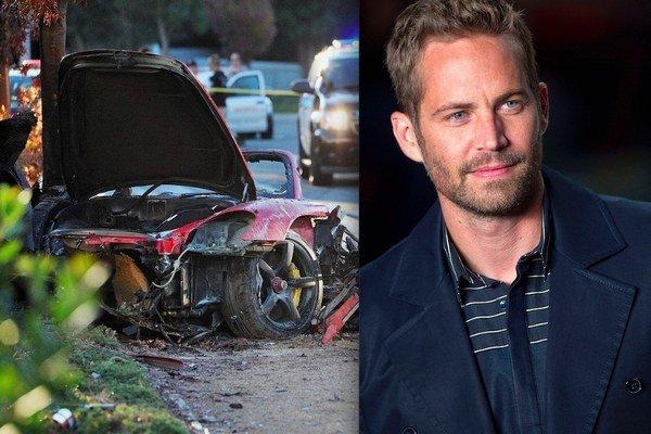 Zabíjala rýchlosť. Tvrdia znalci, ktorí skúmali nehodu Porsche. Ako spolujazdec zomrel aj herec Paul Walker.