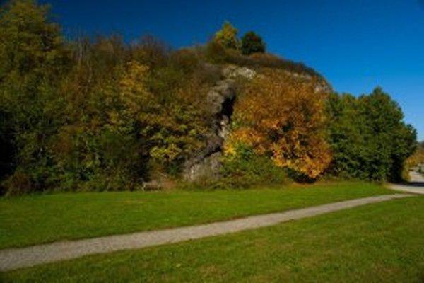 Miesto niekdajšieho Prievidzského hradu.