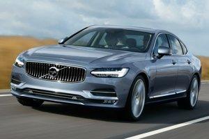 Limuzína vyššej strednej triedy Volvo S90. Nová limuzína Volvo S90 bude debutovať na januárovom detroitskom autosalóne a bude konkurenciou pre Audi A6, Mercedes E a BMW 5.
