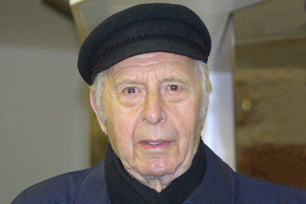 Všestranný umelec. František Zvarík bol nielen hercom, ale aj zdatným spevákom a maliarom.