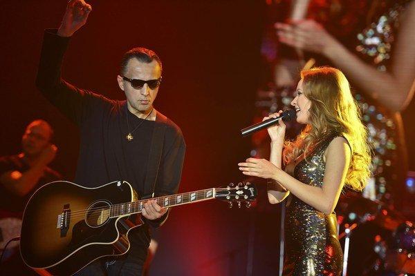 Kristína a Robo Grigorov. Zo spolupráce vznikla nová pieseň.