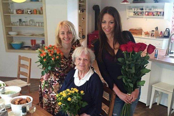 Agáta Prachařová a Veronika Žilková. Veronika všetko zvládla len vďaka svojej mame, ktorá jej bola neustále na blízku.