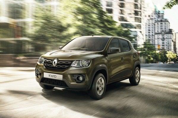 Mestský automobil Renault Kwid. Modelom Kwid, ktorý bude stáť 4 000 až 5 000 eur, si chce francúzsky výrobca posilniť svoju pozíciu na indickom trhu.