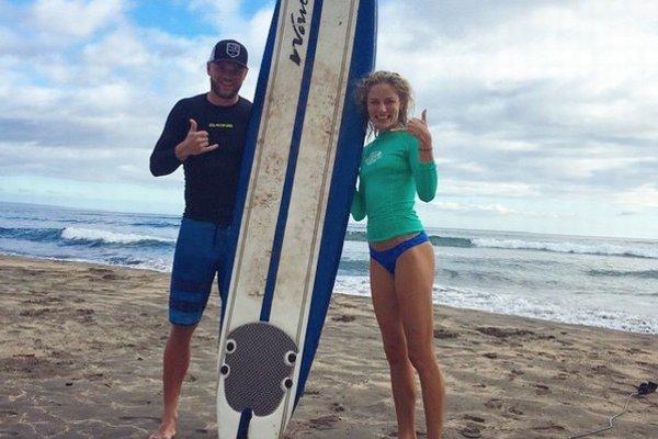 Akčná dvojka. Ivanu a Mariána očaril surfing.
