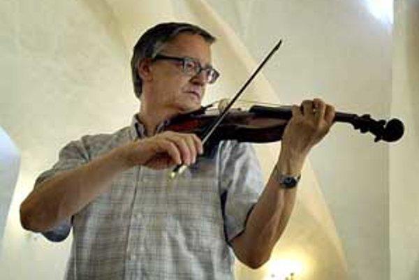 Peter Michalica je už pár rokov súčasťou Bojnického hudobného leta.