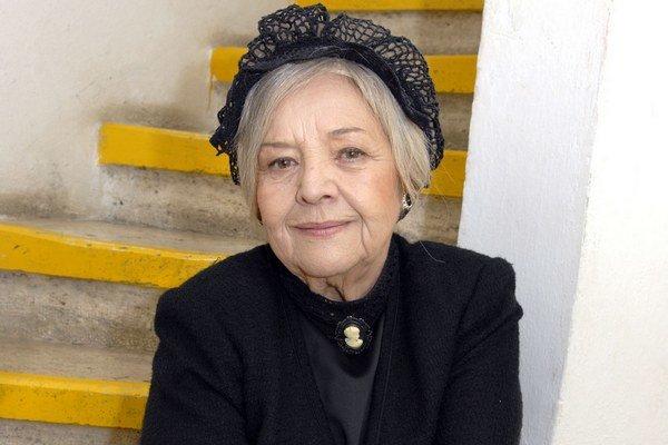 Strápená herečka. Evu Krížikovú neposlúcha srdce.