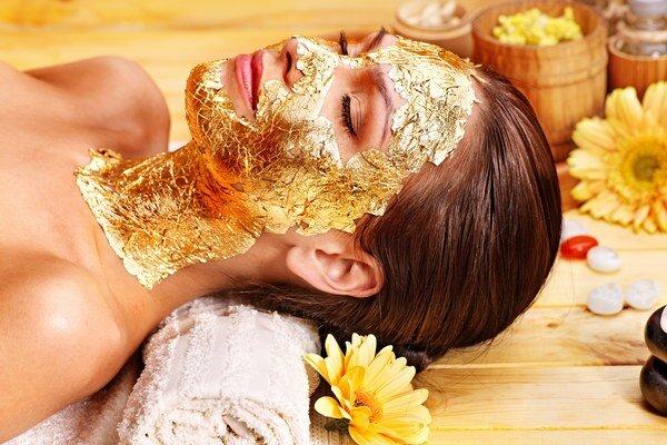 Zlatá maska.