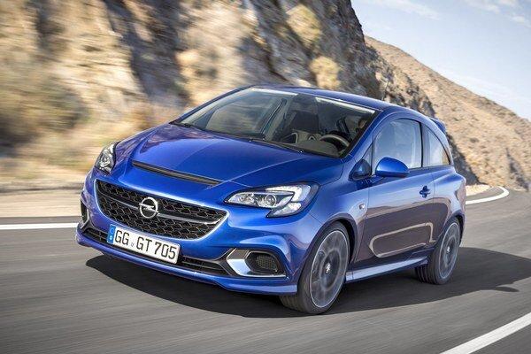 Športový Opel Corsa OPC. Pod prednou kapotou pracuje 1,6-litrový prepĺňaný benzínový štvorvalec, ktorého maximálny výkon je 152 kW.
