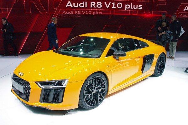 Audi R8 V10 druhej generácie. Nové superšportové audi je postavené na rovnakej podvozkovej plošine, akú používa Lamborghini Huracan.