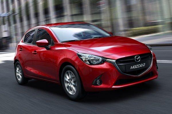 Kompaktný model Mazda2. Mazda2 sa pod názvom Demio už predáva na japonskom trhu, na európsky príde začiatkom budúceho roka.