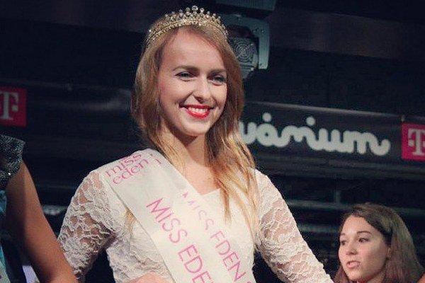 Miss Eden vyhrala Zuzana Mošková z Vranova.