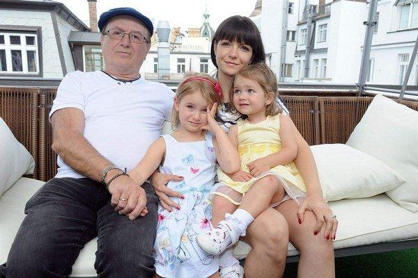 Petr Janda. Na rodinu má oveľa viac času ako kedysi.