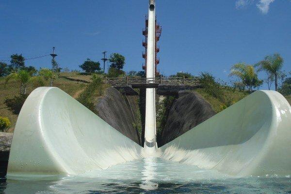 Najvyššia vodná šmýkačka na svete.