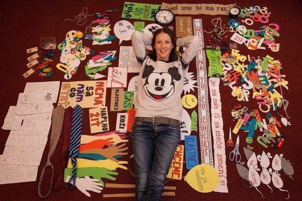 Zuzana Smatanová vyštudovala pedagogickú školu. V školskej družine by jej šikovné ručičky určite ocenili.