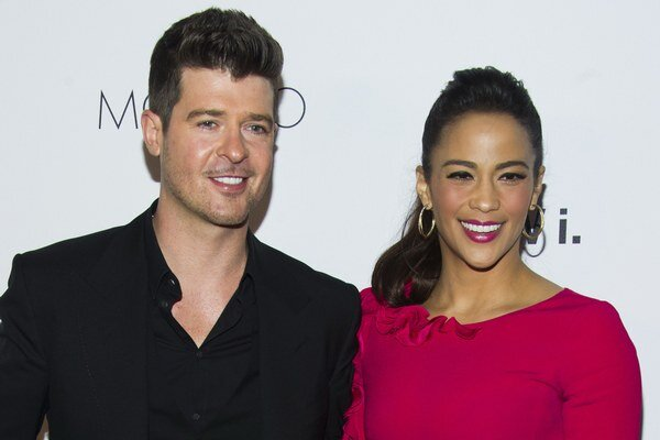 Paula Patton a Robin Thicke.