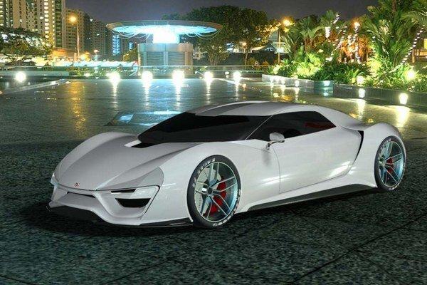 Superšportový automobil Trion Nemesis. Model Nemesis, ktorého názov znamená spravodlivá odplata,  chce narušiť dominanciu Európanov v triede superšportových automobilov.