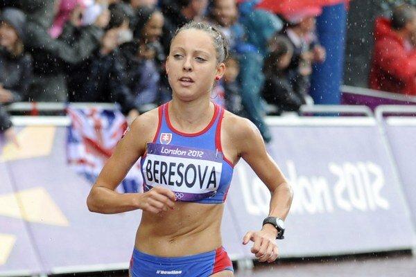 Katarína Berešová. Má za sebou premiéru na MS v polmaratóne.