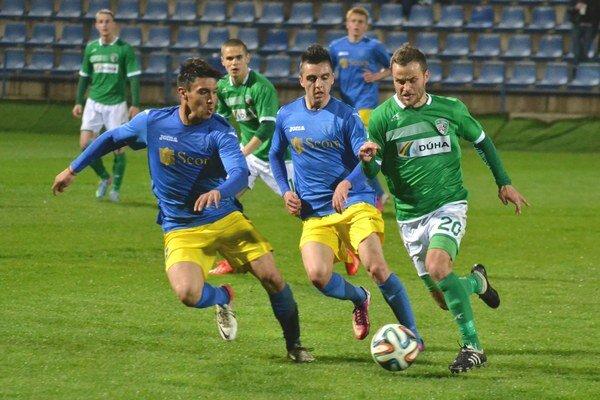 Východniarske derby víťaza nemalo. Michalovčania doma remizovali s Prešovčanmi 1:1.